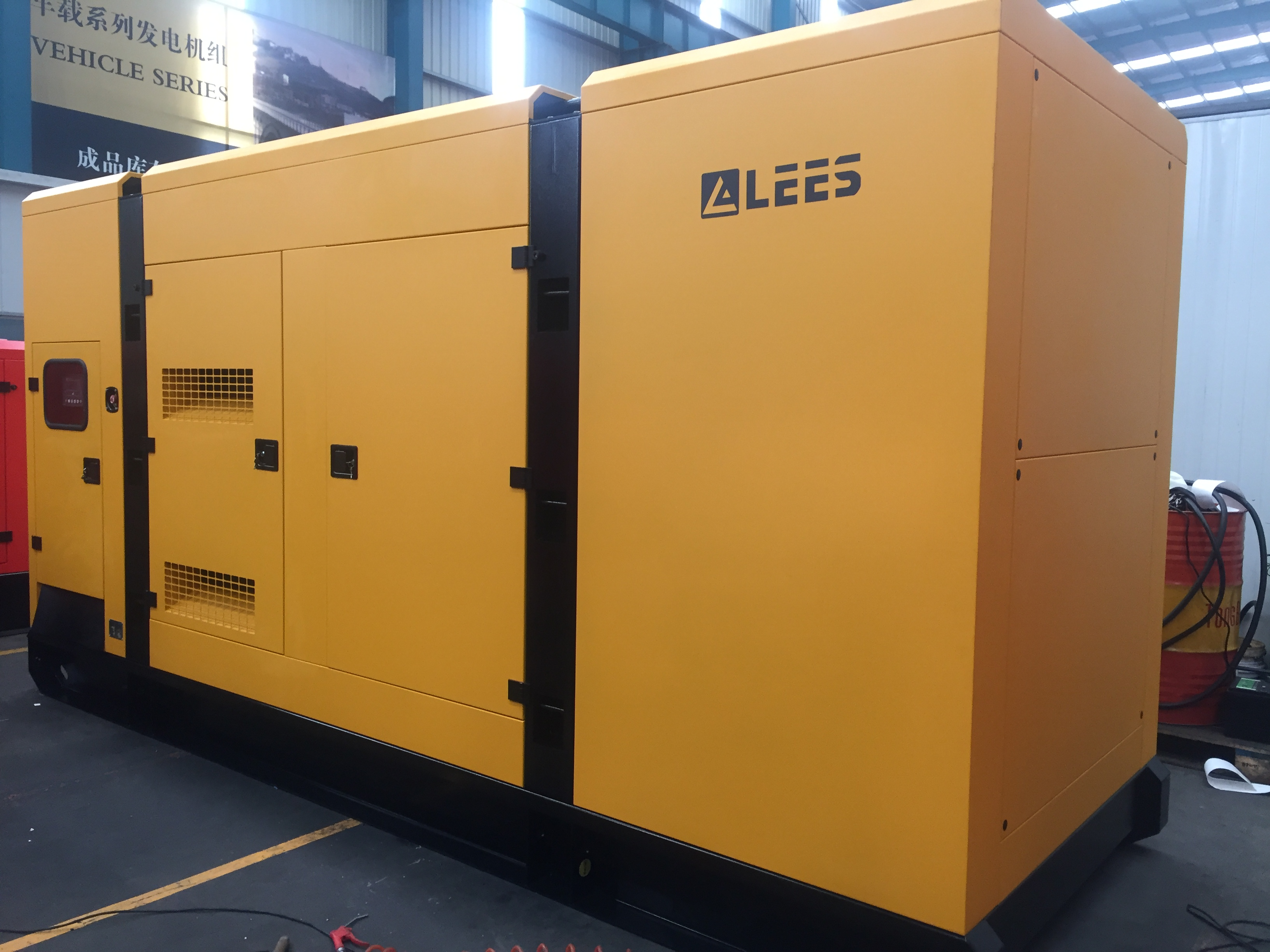 Lees Delivered generators to CHITTAGONG,BANGLADESH
